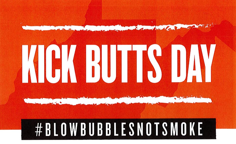 2018 Kick Butts Day Event